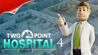 Two Point Hospital 4 КАК ВСЕГДА МНОГО БОЛЬНЫХ