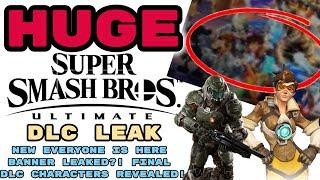 HUGE Smash Ultimate DLC Leak UPDATE! CREDIBLE LEAKER REVEALS