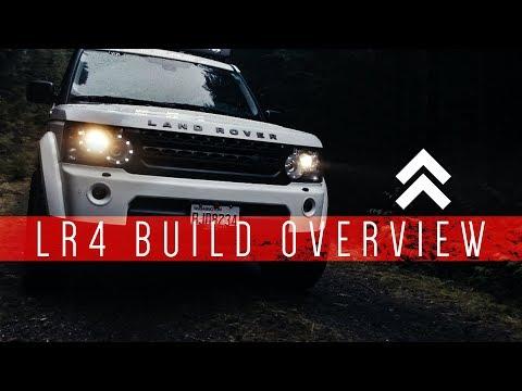 Vehicle Builds: Land Rover LR4 Overland