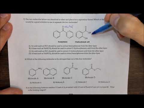 Organic 2 Lab (ACHM 223) Practice Final Exam - YouTube