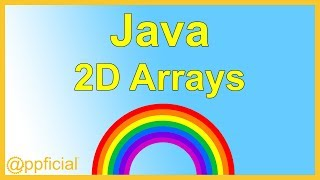 2D Arrays in Java Programming - Two Dimensional Arrays Example Tutorial - APPFICIAL