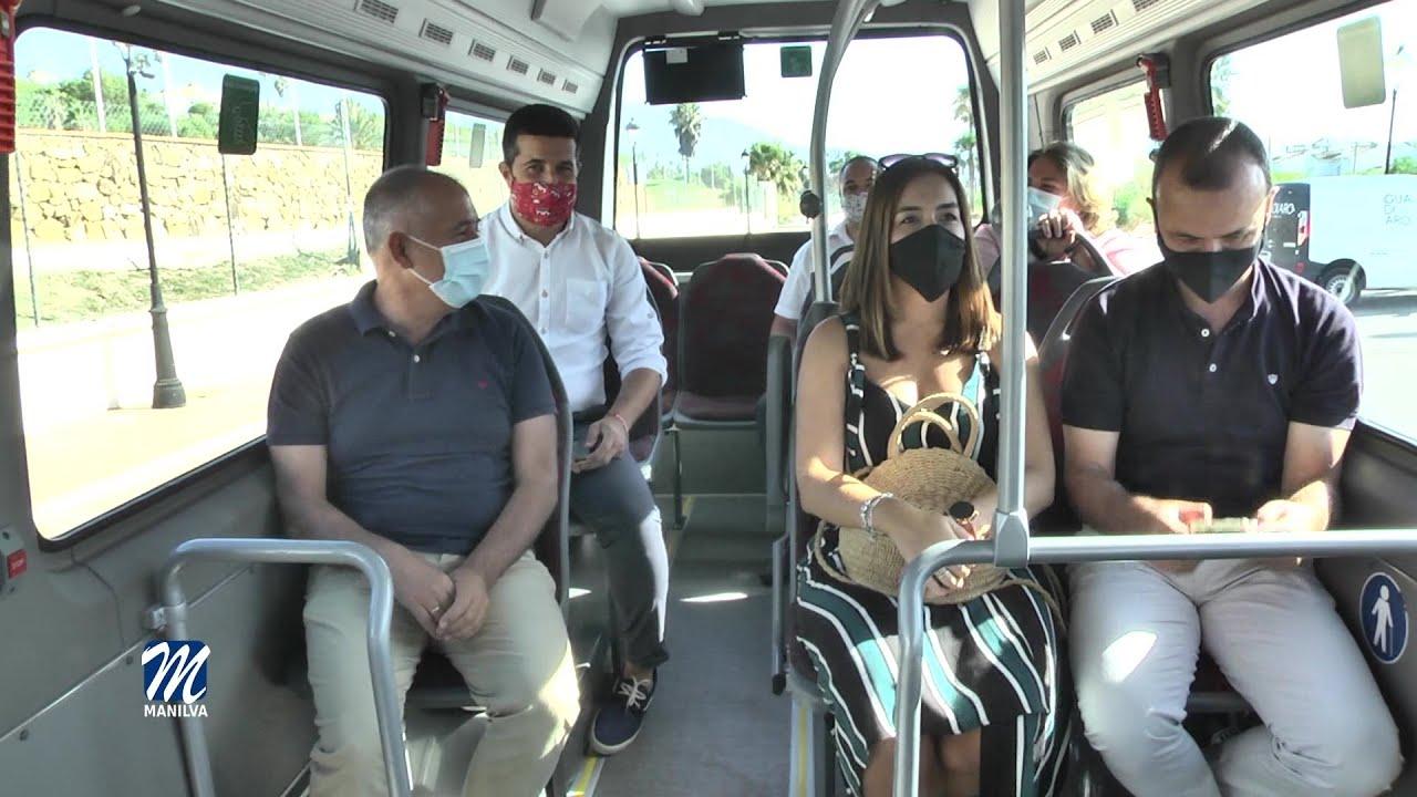 Ya funciona la nueva línea del bus urbano