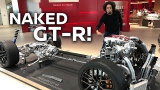 NAKED GT-R! What's under the R35 bodywork?