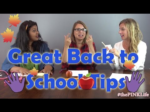 #thePINKLife Ep 30: Great Back to School Tips!