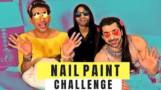 Nail Paint Challenge | Rimorav Vlogs
