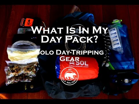 What's in My Day Pack?  My Solo Day-Tripping Gear