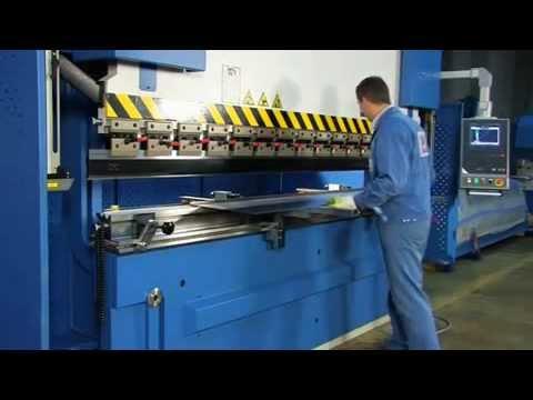CNC Plegadora Funcionamiento