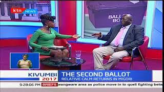 Manoah Esipisu expounds on Jubilee's irreducible minimums
