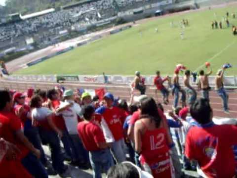 """""""Xelaju - Cremas 2008 Gran recibimiento en la Pedrera"""" Barra: Sexto Estado • Club: Xelajú"""
