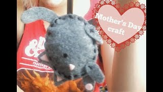 D.I.Y Felt Cat ! (Easy Craft For Mothers Day!)