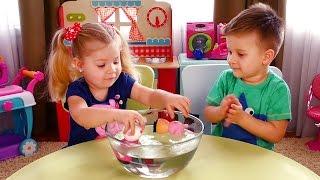 Свинка Пеппа ФОКУСЫ для детей! Peppa Pig Magic Tricks for children Игрушки Свинка Пеппа на русском