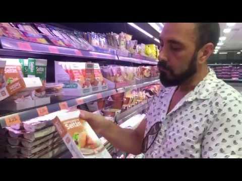 Compra vegana en Supermercado Mercadona