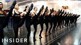 What It Takes To Be A Rockette In Radio City's Christmas Spectacular