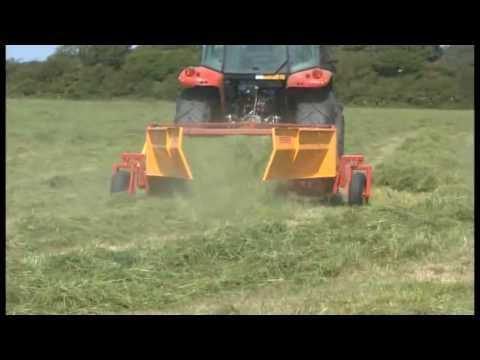 Shortens drying time, improving forage quality or straw value
