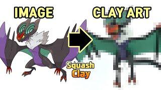 Pokémon Clay Art: Noivern Flying/Dragon Pokémon!!