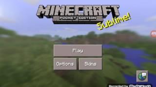 Furkan Oyunda-Minecraft PE-Hunger Games Yapımı