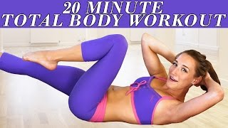 Easy Beginners Workout for Women – At Home Full Body 20 Minute Floor Exercises by PsycheTruth