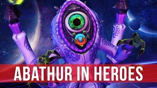 Heroes of the Storm: Abathur Monstrosity Build! (Gameplay)