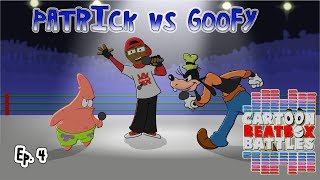 Patrick VS Goofy - Cartoon Beatbox Battles
