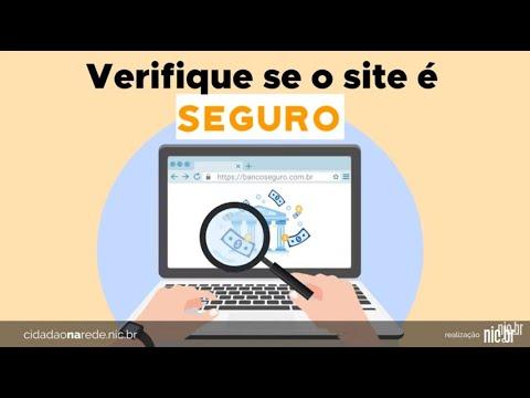 Imagem de capa do vídeo - Navegação segura