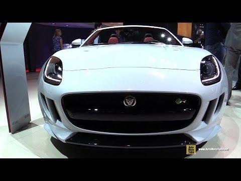 2015 Jaguar F-Type R AWD Convertible - Exterior and Interior Walkaround - Debut at 2014 LA Auto Show