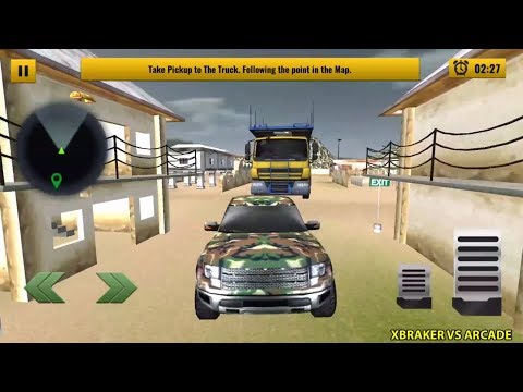 US Army Car Transport: Cruise Ship Simulator Games Android Gameplay