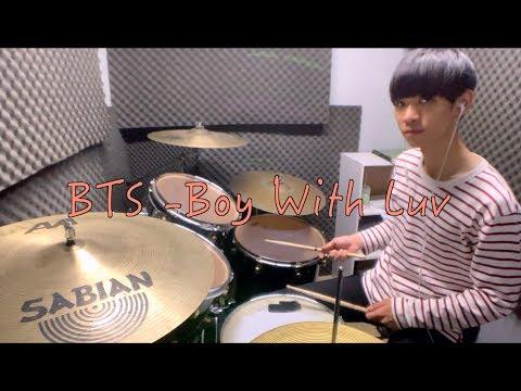 BTS -Boy With Luv 李科穎KE DRUM COVER