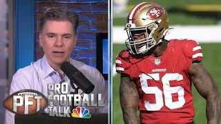 49ers clear cap space with Kwon Alexander trade | Pro Football Talk | NBC Sports