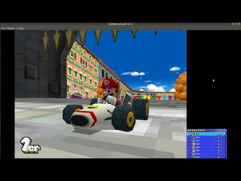 melonDS: Mario Kart DS in hi-res glory