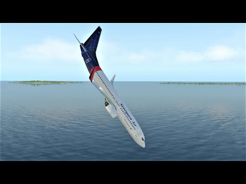 Indonesian Sriwijaya Air Boeing 737 Crash After Takeoff