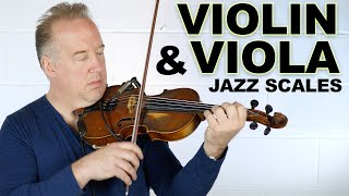 How to Practice Jazz Scales for Violin, Viola, and Cello (Part 1)