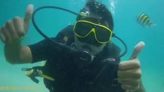 Scuba Diving in Phi Phi Island,Thailand 2017