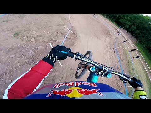 GoPro: Rachel Atherton's Winning Run – UCI Mountain Bike World Cup 2015