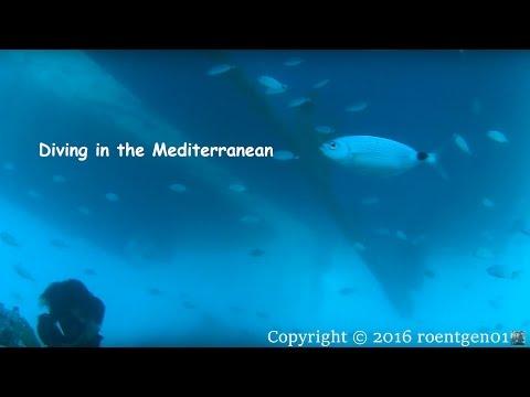 Türkei — Erster Tauchgang im Mittelmeer