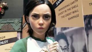 SDCC 2018 WETA Workshop Alita Battle Angel Booth Statues