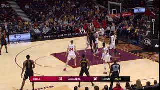 1st Quarter, One Box Video: Cleveland Cavaliers vs. Chicago Bulls