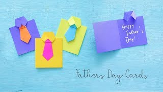 DIY Fathers Day Cards | Gift Ideas | Paper Crafts