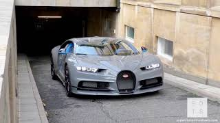 WOOW $3Million Nardo Grey Arab Bugatti Charon arrives in London!