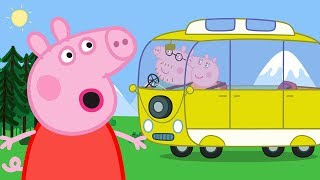Peppa Pig English Episodes Camper Van! Camping Holiday Special 2018 | Peppa Pig Official