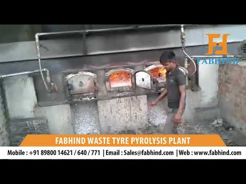 Urban  Waste Tyre Recycling Plant
