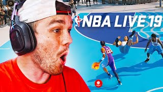 NBA LIVE'S NEW UPDATE IS 100x BETTER THAN 2K21... UNBELIEVABLE!