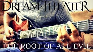 "Dream Theater - ""The Root of All Evil"" [rhythm guitar cover]"
