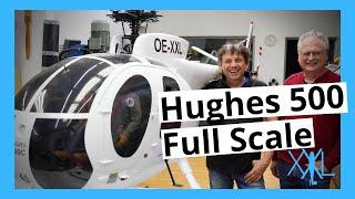 Hughes 500 Full Scale Exterior Tour   XXL-modelhelicopter