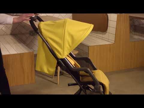 Diono Прогулочная коляска Traverze Yellow Sulhur Linear
