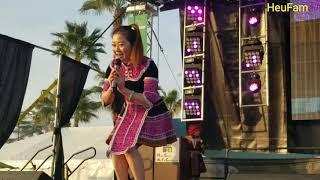 Fresno HCNYC 2017-2018: Miss Hmong USA - Laj Tsawb Hu Nkauj Rau Cov Ntxhais Nkauj Ntsuab