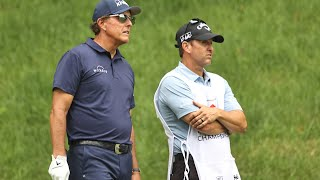 Phil Mickelson's cart path ruling at Travelers Championship