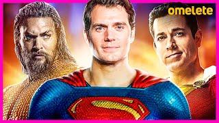 SUPERMAN HENRY CAVILL EM SHAZAM E AQUAMAN! FUTURO PÓS-SNYDERCUT #FiqueEmCasa #Comigo