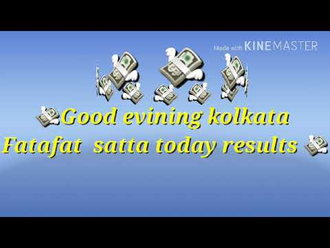 Kolkata Fatafat Satta Today 25 08 18