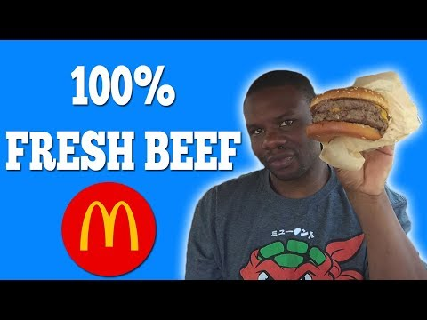 McDonald's New 100% Fresh Beef Double Quarter Pounder – Fast Food Review
