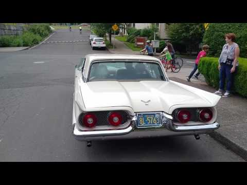 Video of '58 Thunderbird - LB7F
